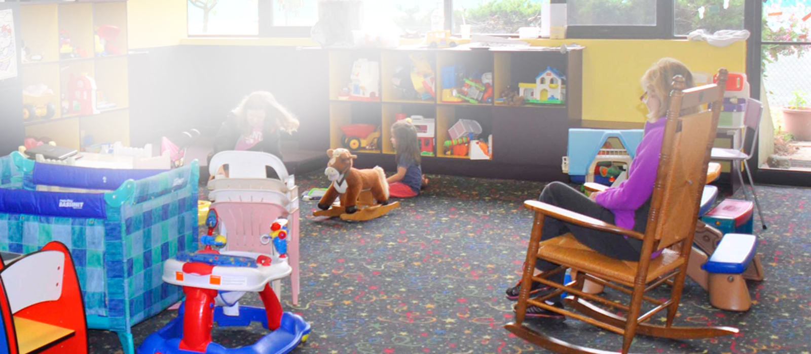 childcare at gym