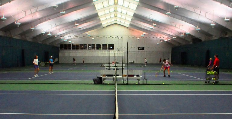 tennis courts indoor cincinnati