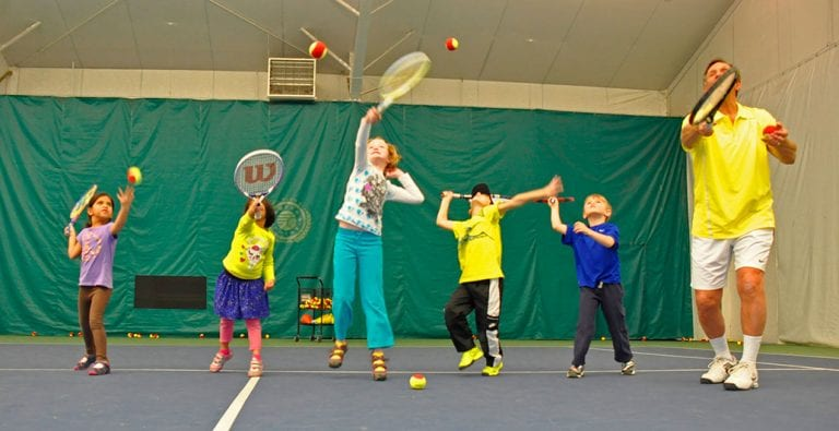 cincinnati tennis lessons children